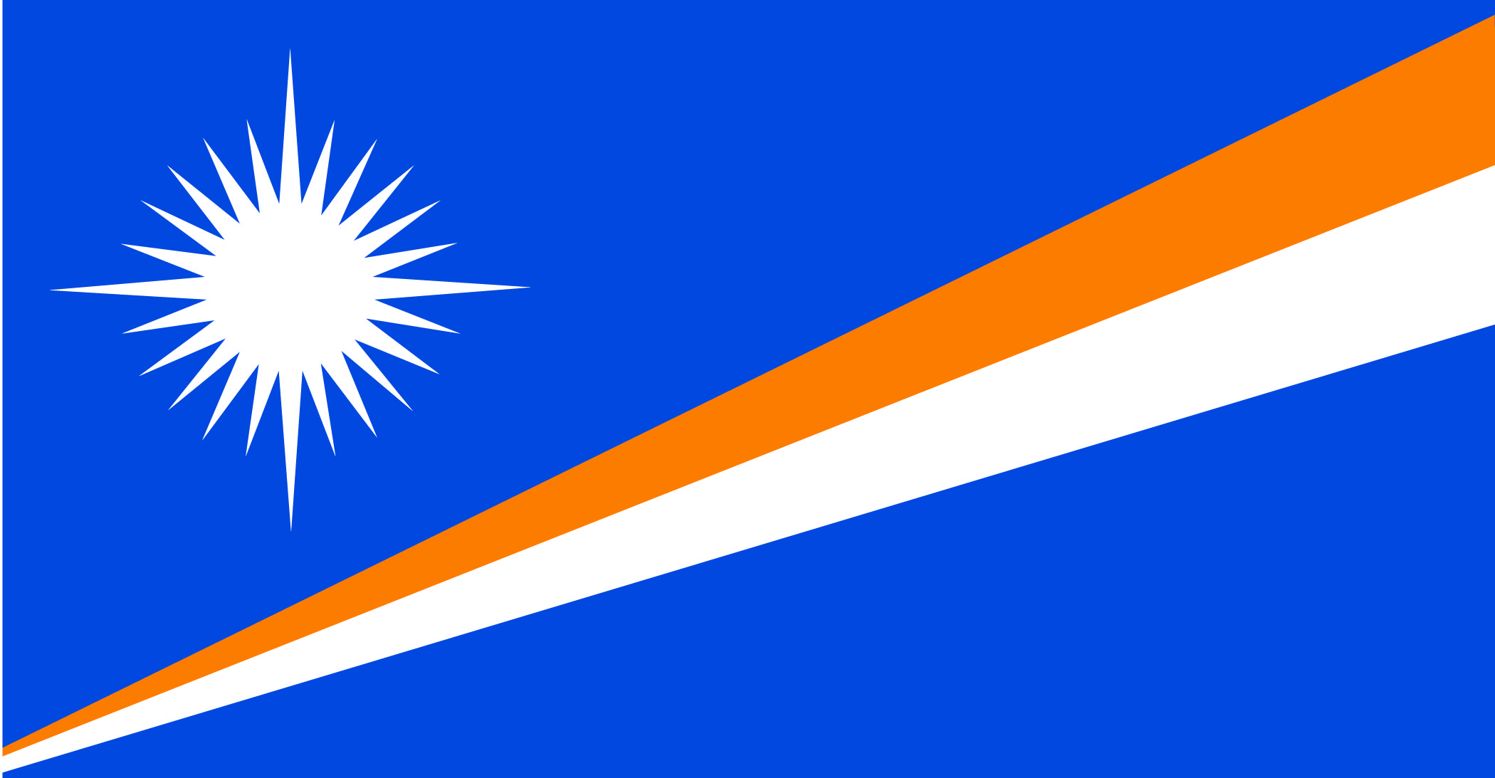 Republic of the Marshall Islands Registry Flag