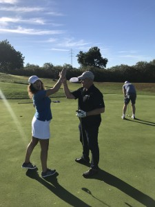 High five Pinmar Golf 2017
